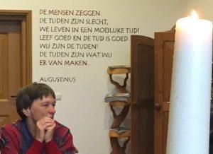 Tekst Augustinus in Casella