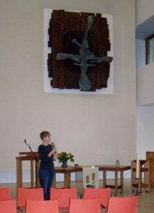 In de Remonstrantse kerk in Groningen