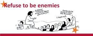 Kerstdiner Jonge Remonstranten Refuse to be enemies