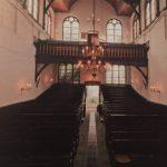 Interieur remonstrantse kerk Delft