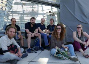 Jonge Remonstranten in Berlijn